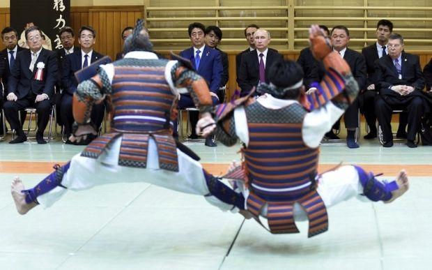 韓国人「プーチンも困惑した日本の武術をご覧ください」 のサムネイル