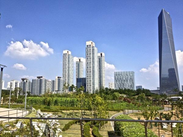 韓国の街角の風景-11