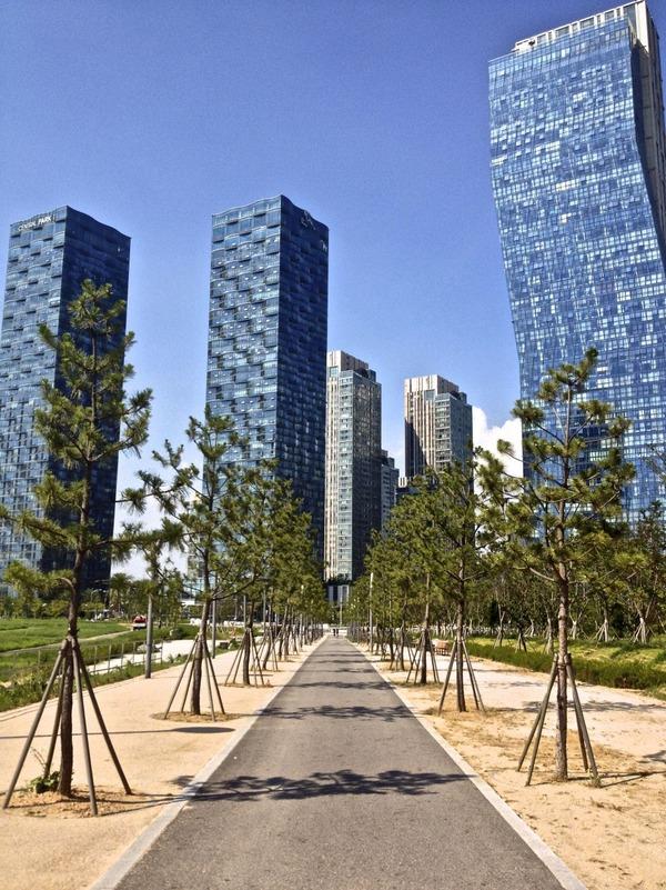 韓国の街角の風景-12