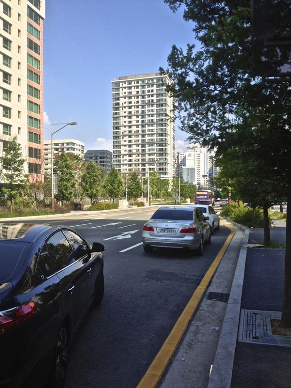 韓国の街角の風景-17