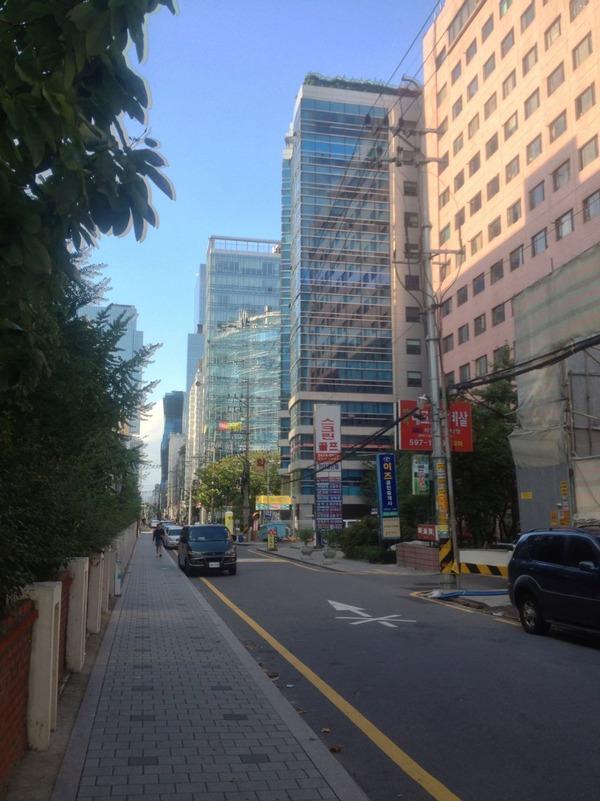 韓国の街角の風景-27
