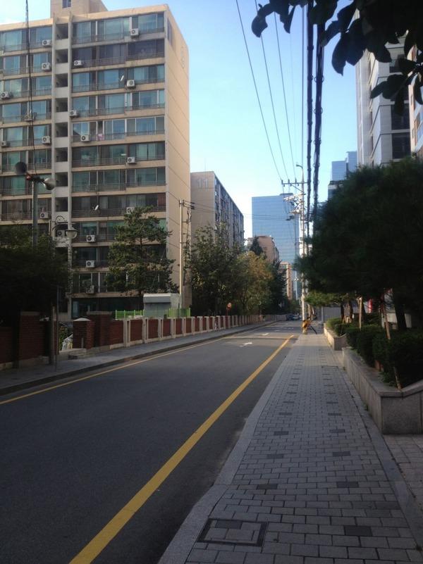 韓国の街角の風景-26