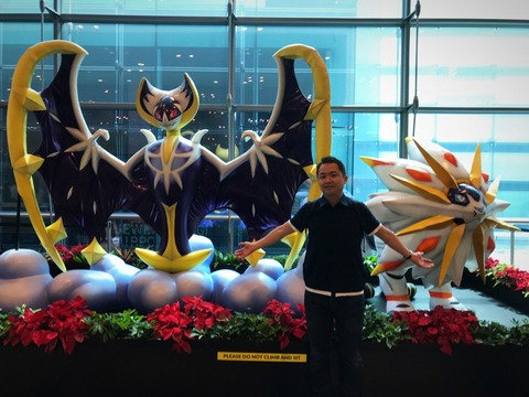 1月チャンギ空港