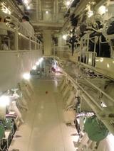 2008年7月11日氷川丸エンジン室
