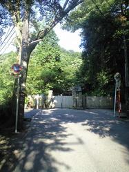 2010年7月27日閉門後の明月院