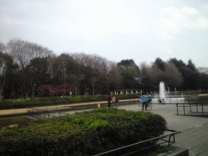 2010年3月16日上野公園