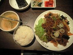 2010年6月10日韓国料理1