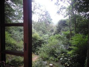 2010年9月15日茂庵の窓から