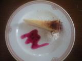 2009年6月24日カフェコルセールの日替わり:デザート
