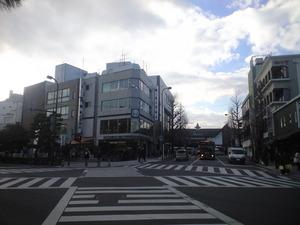 2011年1月13日鎌倉駅前ロータリー