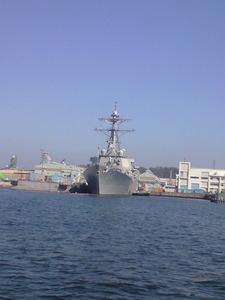 2010年2月23日イージス艦