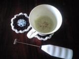 2008年12月16日クリーマーで作った抹茶ラテ