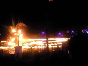 2010年7月22日ブラヴィーッシモの炎の海