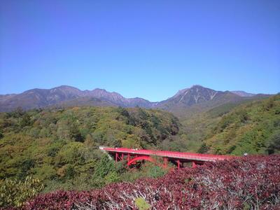 2009年10月13日東沢大橋