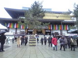 2009年1月9日成田山本堂