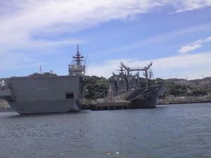 2010年9月7日作業用艦