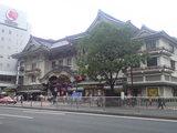 2009年7月8日歌舞伎座前景
