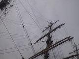 2009年7月20日海王丸 総展帆3