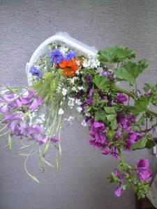 2010年5月15日バザー花束