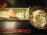2009年6月8日 笹寿司と麩スープ