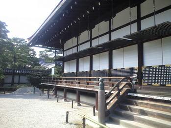 2009年10月22日京都御所