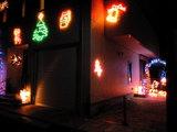 2008年12月7日小泉のイルミネーション1