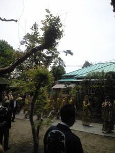 2011年05月16日お寺の雅楽演奏隊