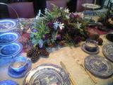 2008年11月13日イギリス風テーブルアレンジ