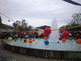 2008年11月8日学園祭と噴水