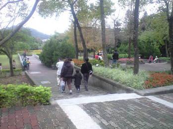 2009年12月19日動物園の庭