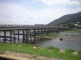 2009年7月14日渡月橋