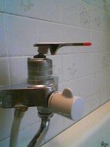 水栓応急措置状態