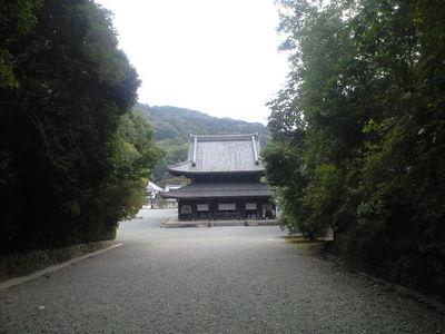 2009年10月25日泉湧寺本堂