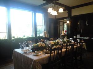 2010年12月6日111番館の晩餐