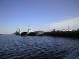 2009年2月18日横須賀新港と猿島