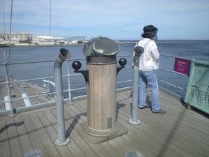 2010年9月7日三笠艦上