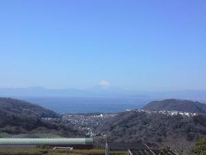 2010年2月1日湘南国際村富士山