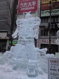 2010年2月7日氷ガンダム