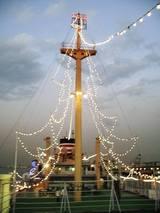 2006Dec4氷川丸のマストツリー