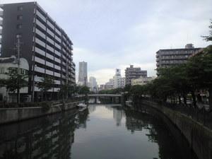 2010年6月23日大田川からみなとみらい方面