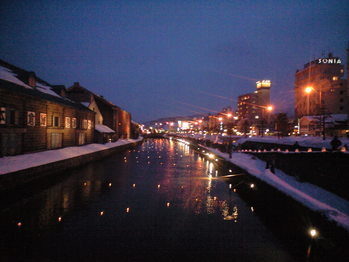 2010年2月9日運河の夜
