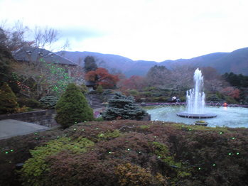 2009年11月27日強羅公園ライトアップ