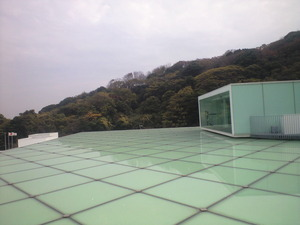 2010年12月1日横須賀美術館屋根