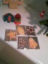 2006Dec18伊藤さんのクリスマスクッキー