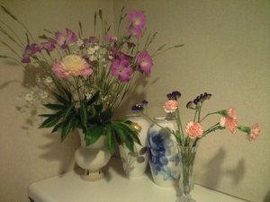 2010年5月15日バザー花を生けたところ
