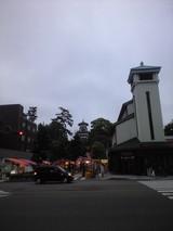 2009年6月7日夕暮れの尾山神社