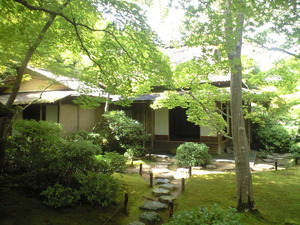 2010年9月16日大河内山荘茶室