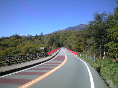2009年10月13日東沢大橋道路