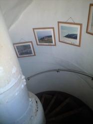 2010年12月1日灯台螺旋階段