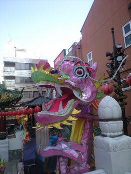 2010年2月24日まそ廟の龍